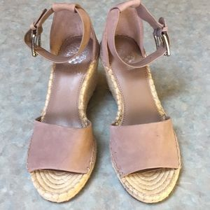 Vince Camuto leather wedge sandals